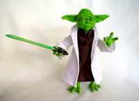 Master Yoda with Sword